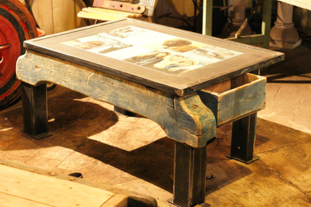 Table basse déco